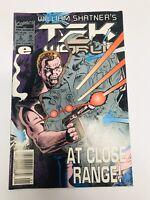 WILLIAM SHATNER'S TEK WAR - VOL. 1 # 5, JAN 1993 - Marvel Comics - TEK WAR