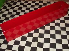 "20"" Red Tool Box Aerosol Spray Can Holder snap 2 use- hang on side Organizer"