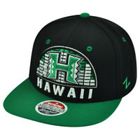 NCAA Zephyr Hawaii Rainbow Warriors Equalizer 32/5 Snapback Flat Bill Hat Cap
