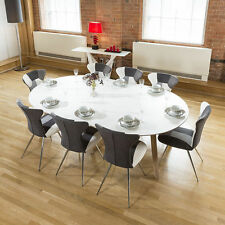 Oak Up to 8 Seats Oval Kitchen & Dining Tables