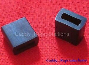 1954 - 1956 Cadillac Rear Quarter Window Stops for Convertible 54 - 56
