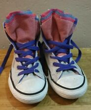 Girls converse trainers size 1