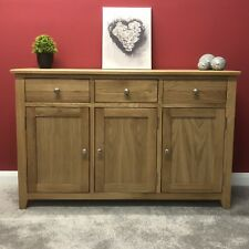 Liberty Large Oak Sideboard / Solid Wood Sideboard  / Buffet Table / Brand New