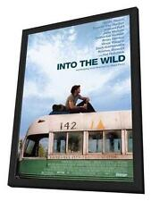 Into The Wild Movie POSTER 11 X 17 In Deluxe Wood Frame, Emile Hirsch