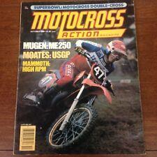 OCTOBER 1980 MOTOCROSS ACTION CARLSBAD SUPERBOWL OF MX DUTCH 500 GP  VINTAGE VMX