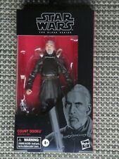 "Star Wars Count Dooku action figure Black Series 6"" #107 NIB"