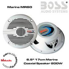 """Boss Audio MR60 - 17cm 6.5"""" Boat Maine Waterproof Speaker 400W Total Power"""