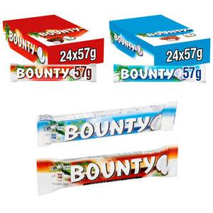 Bounty Coconut Milk Chocolate Bounty Dark Chocolate Twin Bar - Pack of 12-24