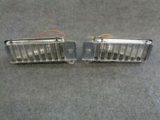 1966 CADILLAC DEVILLE RIGHT LEFT FRONT FENDER CORNER LIGHTS