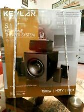 Kevlan Media Labs 5.1 Hd Home Theater System Kv-10 New Sealed in Box Mp4 Denmark
