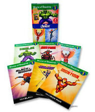 World of Reading, Level 1 Marvel Avengers Box Set 10 Readers  (2015,Paperback)