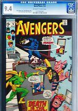 AVENGERS #74 CGC 9.4 (1970)