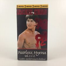 Jackie Chan Fearless Hyena Vol 1 & 2 Double VHS Movie Film 1995