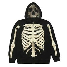 New with Tags Boys Size Small Skeleton Hoodie Jacket