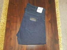 "Men's Wrangler Jeans, BNWT, LARSTON Slim Tapered, W 36"", L 32"", Indigo Blue."