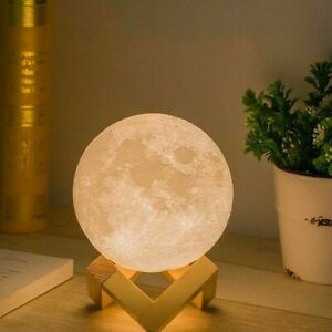 3D Moon Lamp With 15cm Size
