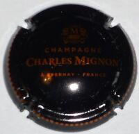 Capsule de Champagne : New !!! MIGNON Charles , noir et cuivre , non réf !!!