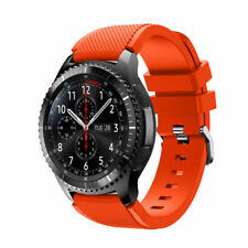 Sport Replacement Rubber Silicone Watch Band Wrist Strap For Samsung Gear S3 Dis