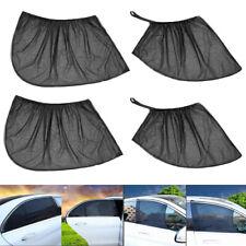 Auto Car SUV 4 Door Front Rear Side Window Sun Visor Screen Mesh Cover Sunshades