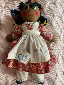 "Vintage 16"" Cambina Stuffed Rag Doll"