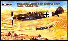 KORA Models 1/72 MESSERSCHMITT Bf-109G-2 TROP Fighter Over the Sahara