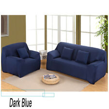 Loveseat Sofa Couch Stretch Slipcover Chair Protect Elastic Cover 1 2 3 4 Seater