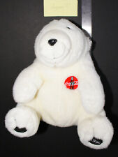 Coca-Cola Polar Bear Plush (1995) - Good Condition