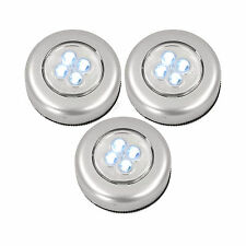 Universal LED Touch Light 3er-Set Schrankleuchte mit je 4 LEDs