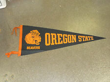 1950'S OREGON STATE FOOTBALL  PENNANT  FULL SIZE EX-MINT   FREE PENNANT COVER