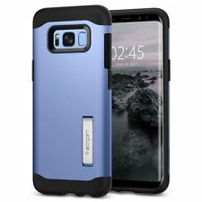 Galaxy S8 Case, Genuine SPIGEN Slim Armor Heavy Duty Kick-stand Cover