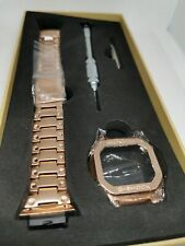 Rose gold stainless steel bezel and bracelet for Casio G Shock GW-M5610