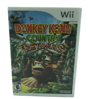 Nintendo Wii Donkey Kong Country Returns Video Game Complete With Manual TESTED
