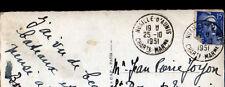 LA ROCHELLE (17) BATEAUX au PORT / Posté à NUAILLE D'AUNIS en 1951