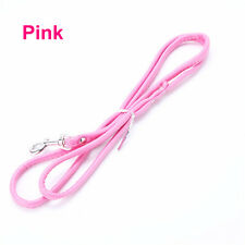 Flexible Dog Cat Walking Rope Pet Leash Long Smooth PU Leather Lead Wire Hot