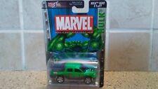 "2002 Chevrolet Avalanche Marvel Die Cast "" Hulk Hunt "" Maisto ( NIP ) #3D"