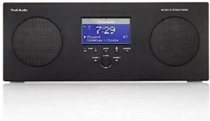 Tivoli Audio Music System Three+ Portable DAB+/FM Hi-Fi System with Bluetooth