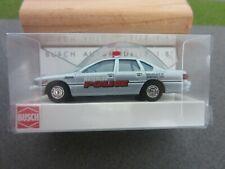 Ho 1/87 Busch Chevrolet Caprice #47628 Waterloo Police Car