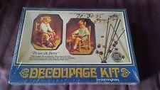 1974 Cunningham Decoupage Kit   Brian & Betsy     *NIB*