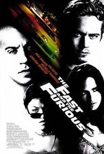 "THE FAST AND THE FURIOUS Movie Poster [Licensed-NEW-USA] 27x40"" Theater Size"
