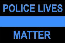Police Lives Matter support Police thin blue line sticker decal sheriff
