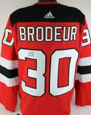 Martin Brodeur Signed NJ Devils Authentic Adidas NHL Jersey Fanatics Certified