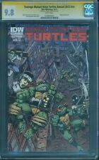 Teenage Mutant Ninja Turtles Annual 2012 CGC SS 9.8 Kevin Eastman IDW Wraparound