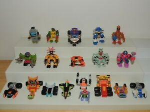 Vintage Z-Bots Micro Machine Mini-Zs Action Figure Lot 18 Pieces LGTI Galoob