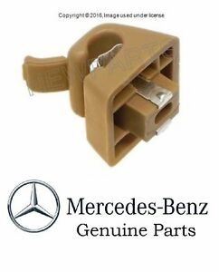 For Mercedes Benz 240D 300SD 300TD 380SEL 300CD E500 Genuine Sun Visor Clip Date