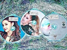 ARIANA GRANDE Music Video Visual Promotion Reel 3 DVD Set OVER 40 Music Videos
