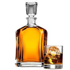 Bormioli Rocco Capitol Whiskey Decanter Table Carafe Bourbon Wine Sherry Port