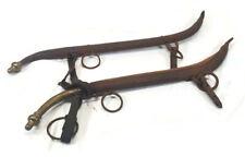 Antique Rustic Western Decor Horse Mule Ox Metal Knob Yoke Collar Harness Set