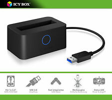 "ICY-BOX IB-2501U3 USB3.0 Dockingstation für 2,5"" SATA III Festplatten/HDD/SSD"