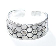 925 Silber - Ring mit Swarovski Steinen - Unikat - Regulierbar Gr. 55 - 59 TOP