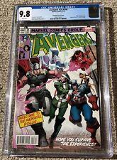 Avengers #24 - X-Men #171 Homage Cover - Marvel 2014 - CGC 9.8 NM/MT